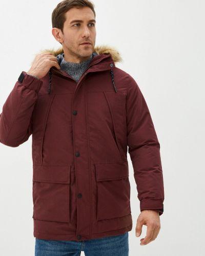 Бордовая куртка короткая Produkt