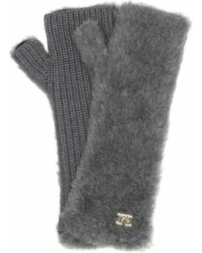 Rękawiczki bez palców wełniane Max Mara