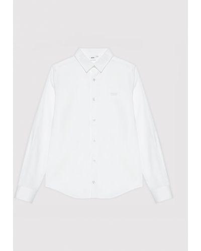 Biała koszula - biała Boss