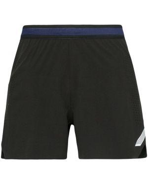 Черные классические спортивные шорты с поясом Soar