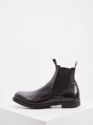 Черные ботинки челси осенние Officine Creative
