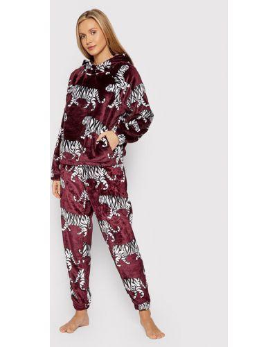 Piżama - bordowa Dkny