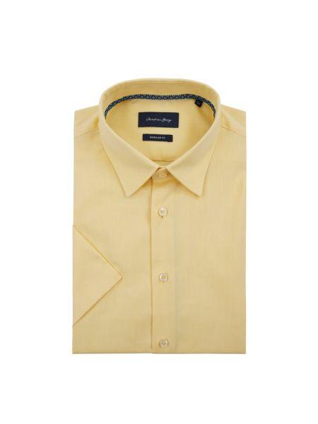 Koszula krótkie z krótkim rękawem Oxford z kołnierzem Christian Berg Men