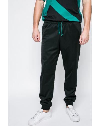 Черные брюки на резинке Adidas Originals