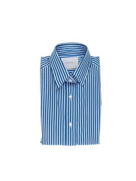 Niebieska koszula w paski Xacus