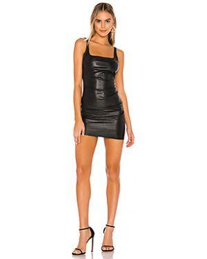 Платье мини кожаное из искусственной кожи Bec&bridge