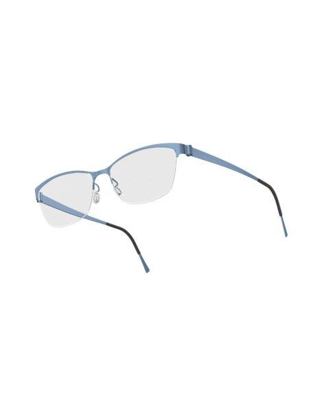 Niebieskie okulary Lindbergh