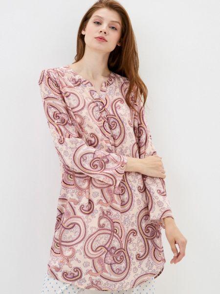 Китайское купальник-платье весеннее розовое платье Deseo