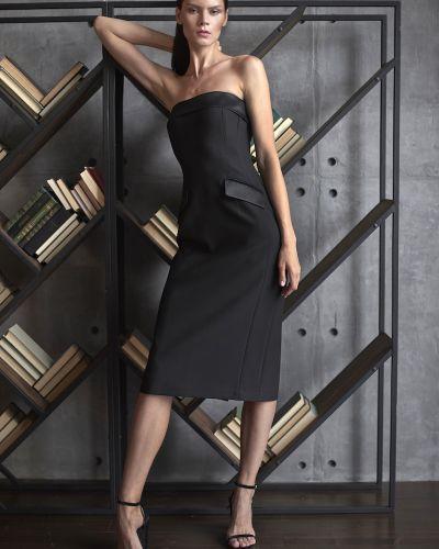 Вечернее платье из вискозы шерстяное Vassa&co