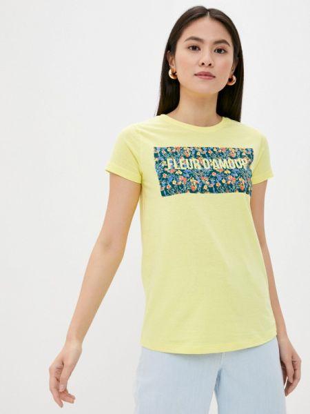 Желтая футбольная футболка Sublevel