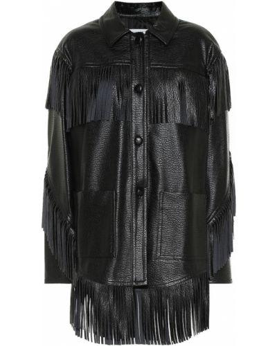 Черная кожаная куртка Philosophy Di Lorenzo Serafini
