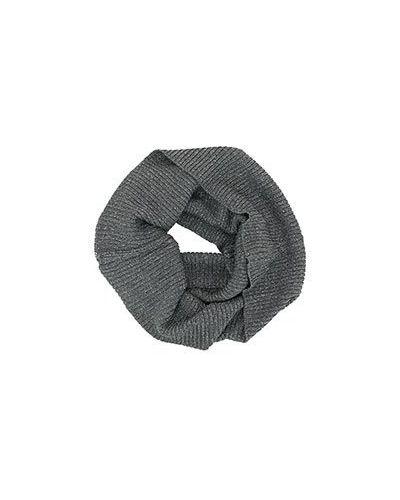 Серый шарф-хомут Luisa Spagnoli