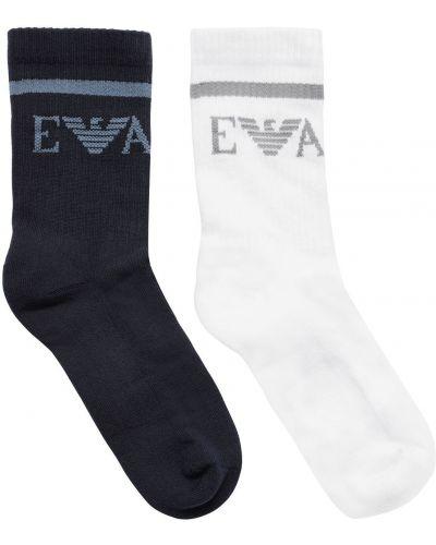 Bawełna bawełna skarpety Emporio Armani
