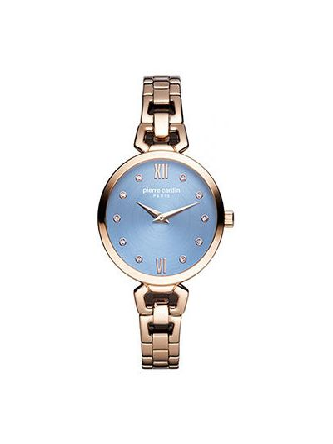 Кварцевые часы - розовые Pierre Cardin