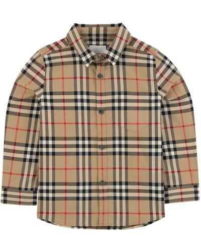 Koszula oversize - beżowa Burberry