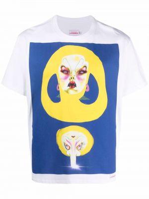 T-shirt z printem krótki rękaw bawełniany Charles Jeffrey Loverboy