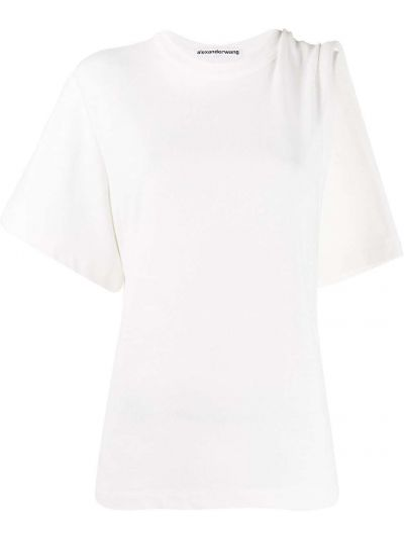 Koszula biała asymetryczny Alexander Wang