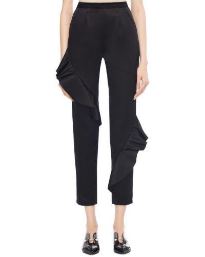 Укороченные брюки - черные Paskal