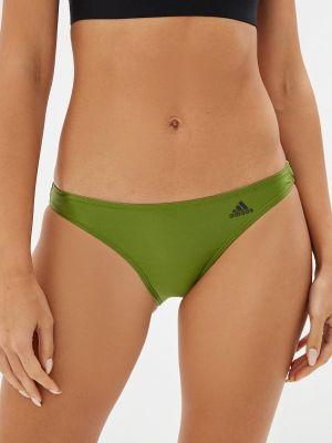 Зеленый плавки Adidas