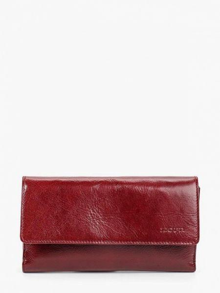 Бордовый кошелек из натуральной кожи Kofr
