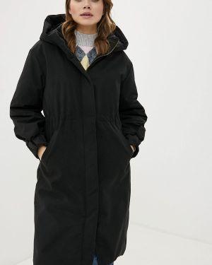 Утепленная куртка - черная Clabin