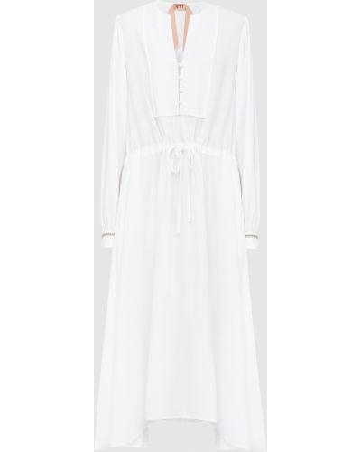 Платье макси - белое N°21