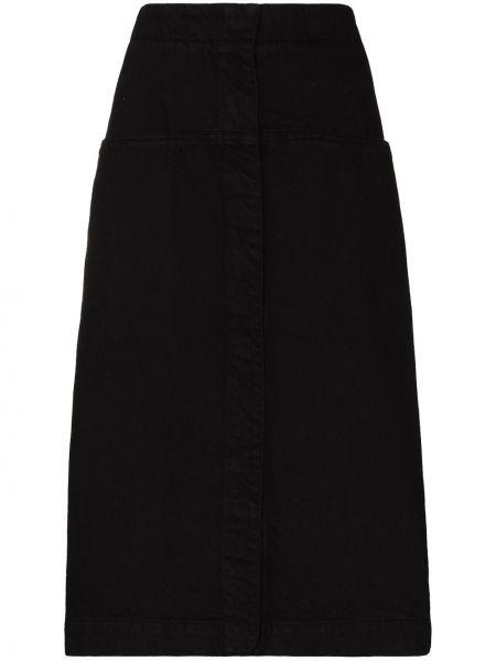 Bawełna bawełna niebieski spódnica mini Lemaire