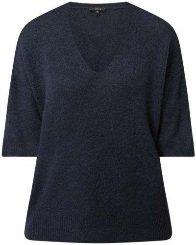 Sweter wełniany - niebieski Opus