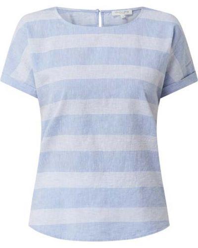 Niebieska bluzka w paski bawełniana Christian Berg Women