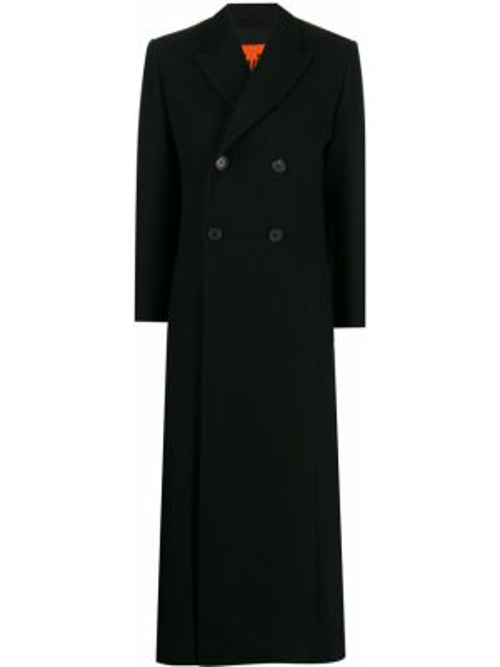 Długi płaszcz wełniany podwójnie Colville