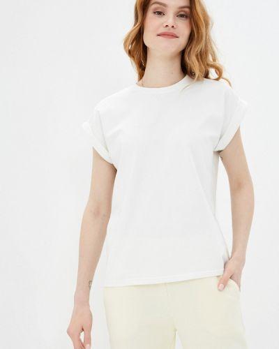 Белая футболка с короткими рукавами синар