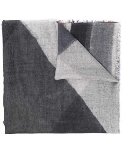 Шелковый шарф - серый Luisa Cerano