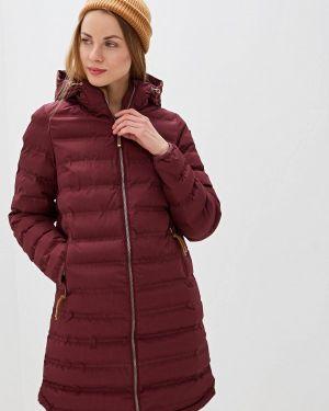 Утепленная куртка осенняя бордовый Icepeak