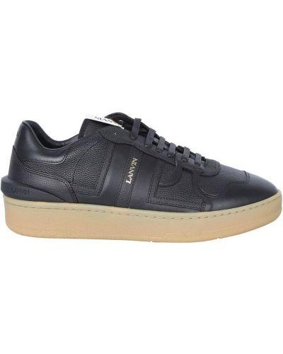 Czarne sneakersy Lanvin