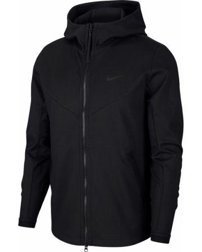 Мягкая черная куртка для полных Nike