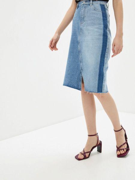 Джинсовая юбка весенняя Savage