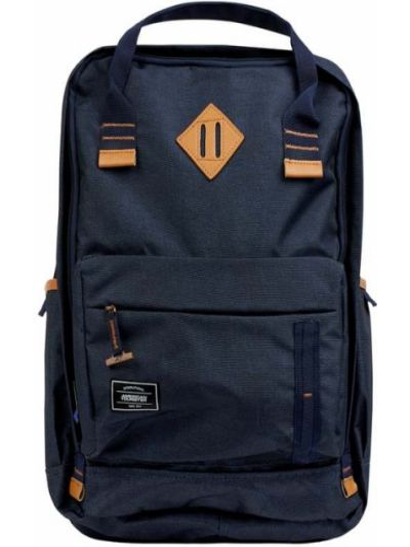 Plecak na laptopa - niebieski American Tourister