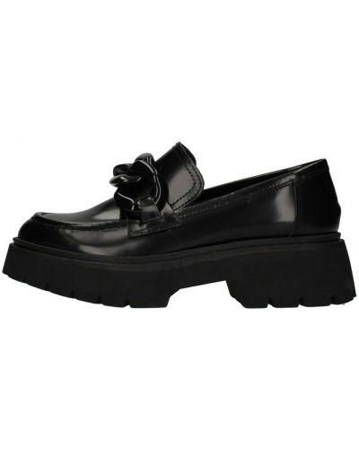 Loafers - czarne Janet & Janet