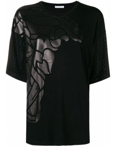 Черный топ Versace Collection
