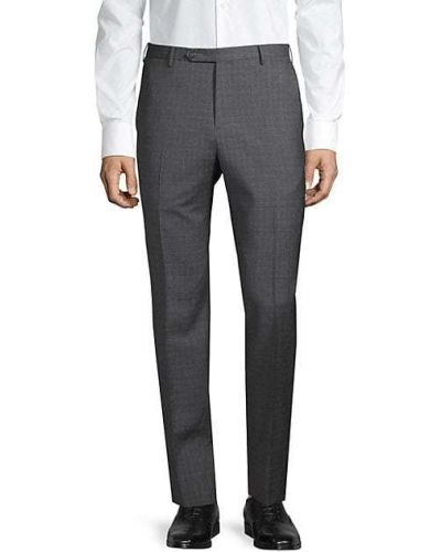 Открытые шерстяные брюки с карманами Zanella