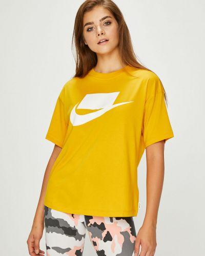 Спортивная футболка свободная эластичный Nike Sportswear