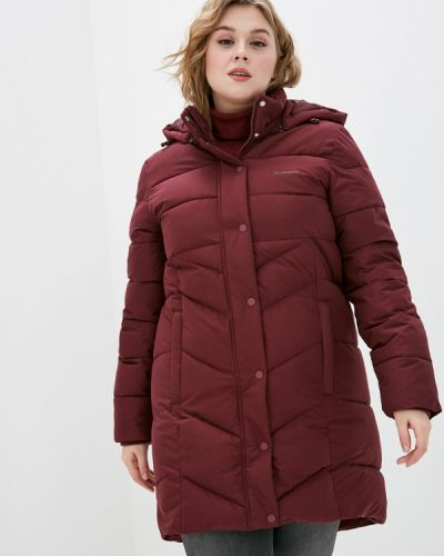Утепленная красная куртка Demix