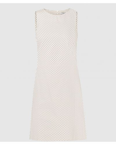 Платье миди - бежевое Peserico