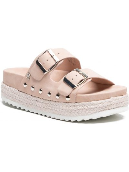 Sandały espadryle - różowe Refresh