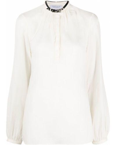 Beżowa koszula bawełniana z długimi rękawami Gabriela Hearst