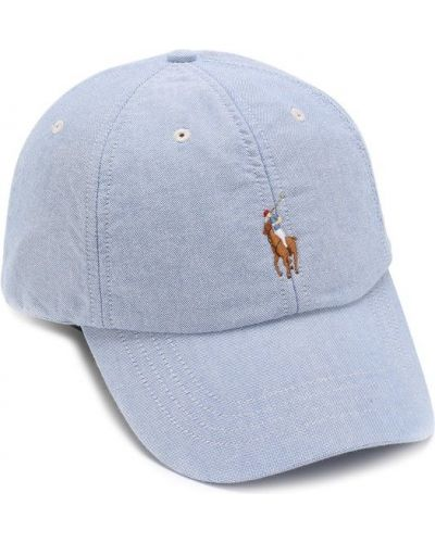 Голубая бейсболка Polo Ralph Lauren