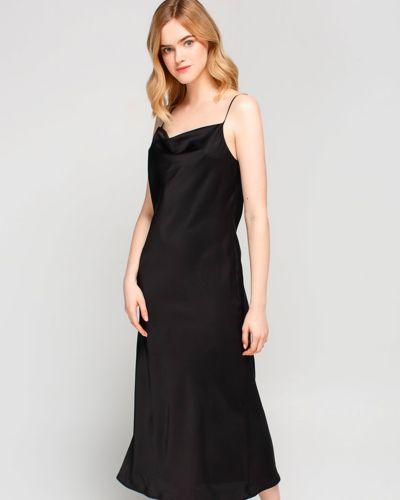 Повседневное черное платье для офиса Must Have