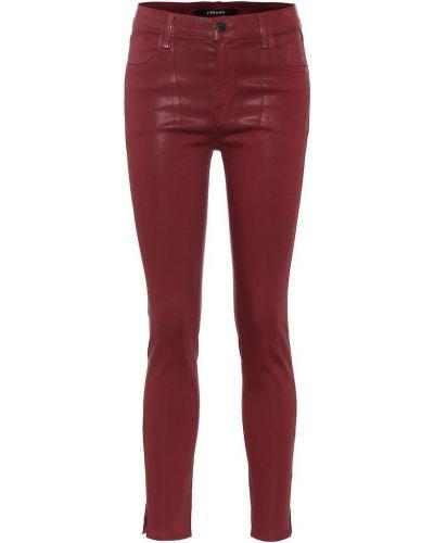 Bawełna markowe zawężony bawełna obcisłe dżinsy J-brand