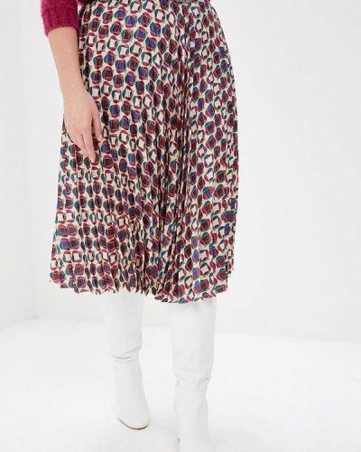 Плиссированная юбка фиолетовый Violeta By Mango