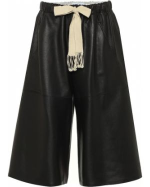 Черные шорты Loewe